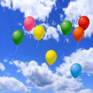 zabawa balonikami