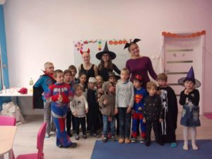 Halloween w Baby English Center